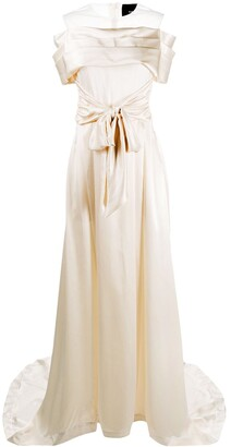 Simone Rocha Front Tie Fastening Gown