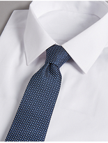 Autograph Pure Silk Spotted Tie