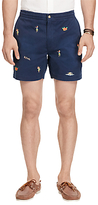 Polo Ralph Lauren Classic Fit Hawaiian Polo Prepster Shorts, Coastal Navy