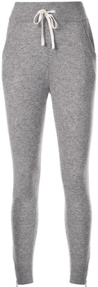 James Perse Cashmere Skinny Fit Track Pants