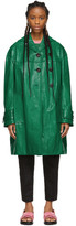 Marni Green Croc Duster Coat