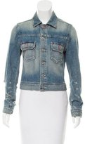 Adriano Goldschmied Embroidered Denim Jacket