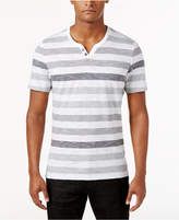 INC International Concepts Men's Heathered Striped T-Shirt, Only at Macy's