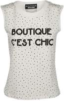 Moschino Dotted Tank Top