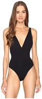 Proenza Schouler Plunging V-Neck Maillot Women's Swimsuits One Piece