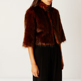 Coast Sadah Faux Fur Cover Up