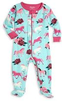 Hatley Baby's Graphic Printed Organic Cotton Footie