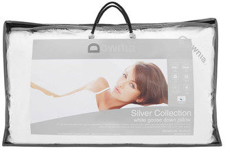 Downia Silver Collection 85% White Goose Down & Feather Pillow Soft Standard