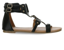 OLIVIA MILLER Pinecrest Dual Buckle Strap Sandals Women's Shoes
