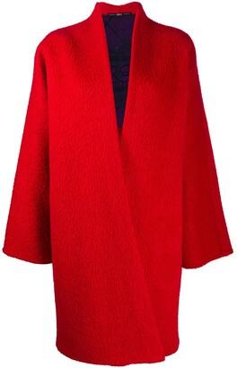Gianfranco Ferré Pre-Owned 1990s V-neck coat