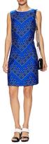 Diane von Furstenberg Sofia Wool Print Above The Knee Dress