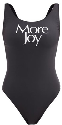 More Joy By Christopher Kane - More Joy Scoop-neck Swimsuit - Black