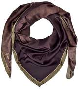 Laura Biagiotti Women's Brown Silk Scarf.