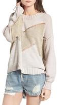 Wildfox Couture Women's Chevron Open Stitch Sweater