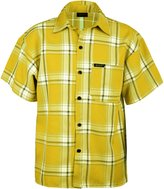 Guytalk men's plaid short sleeve button down shirts 2XL