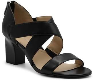 Adrienne Vittadini Rowsey Block Heel Sandal