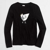 J.Crew Factory French hen Teddie sweater