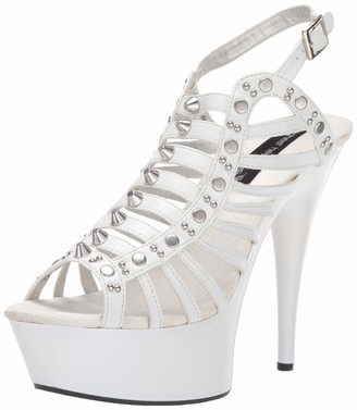 The Highest Heel Women's Amber-571 Platform Sandal