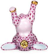Herend Handstand Bunny Figurine