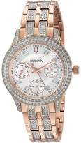 Bulova Crystal - 98N113 Watches