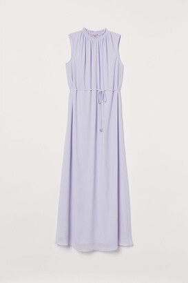 H&M Crinkled Dress - Purple