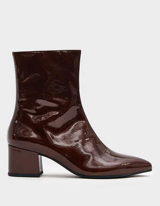 Vagabond Shoemakers Mya Patent Boot in Brown