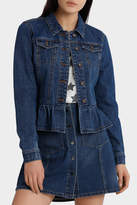Only Agnes Frill Denim Jacket