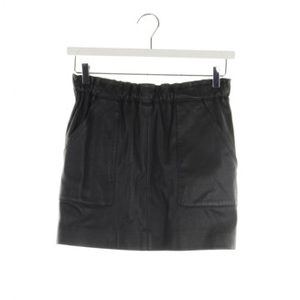 Sly 010 Sly010 Black Leather Skirt for Women