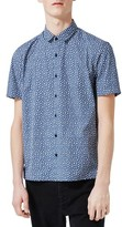 Topman Men's Jigsaw Print Shirt