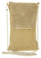 Sasha Stone Mesh Crossbody Bag