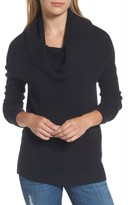 Halogen Petite Women's Convertible Cowl Cashmere Sweater