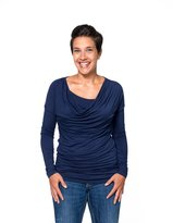 Momzelle Women's Breastfeeding Alice Draped Nursing Top