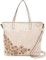 Urban Expressions Floral Vegan Leather Tote