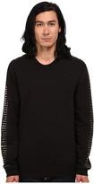 Just Cavalli Long Sleeve Studded Sleeve Sweatshirt