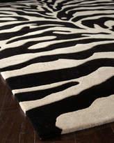 Horizon Home Imports Fair Ivory Zebra Rug, 4' x 6'
