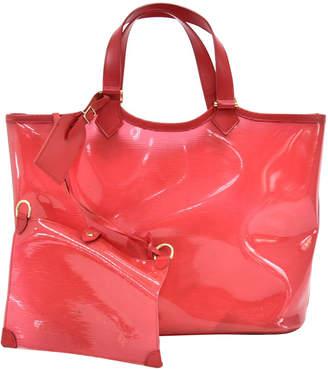 Louis Vuitton Red Epi Plage Lagoon Bay GM Tote