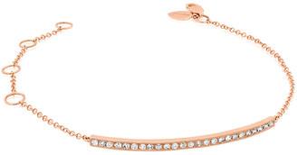 Meira T 14K Rose Gold 0.30 Ct. Tw. Diamond Bar Bracelet