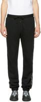 Marcelo Burlon County of Milan Black Mako Lounge Pants