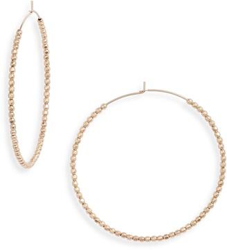 Set & Stones Erin Hoop Earrings