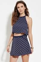Forever 21 Geo Print Mini Skirt