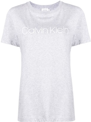 Calvin Klein logo print cotton T-shirt