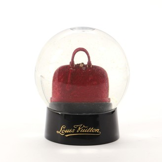 Louis Vuitton Alma Snow Globe Figurine Enamel and Glass