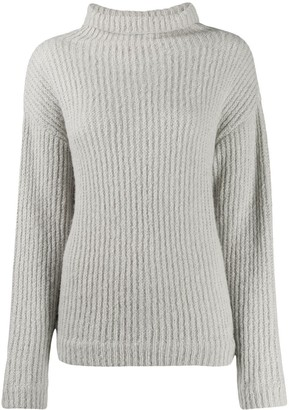 Our Legacy Ribbed Knit Rollneck Jumper