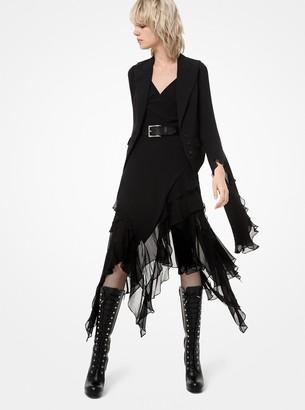 Michael Kors Wool-Serge Vest