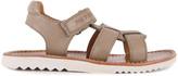 Pom D'Api Boy Waff White Sole Leather Sandals