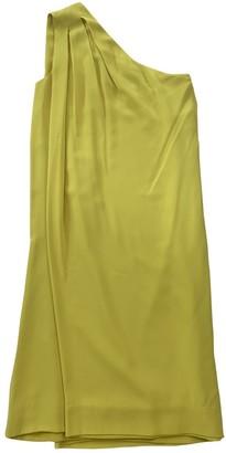 Diane von Furstenberg Yellow Silk Dresses