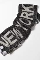 Urban Outfitters City Intarsia Soccer Scarf