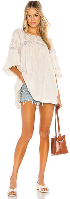 Free People Azalea Lace Tunic