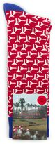 Ted Baker Golfboy Geo Cotton Socks