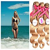 Punzel's Brazilian 100% Unprocessed Human hair Extensions 27 Body Wave Bundles 3pcs/Lot,14''16''18''
